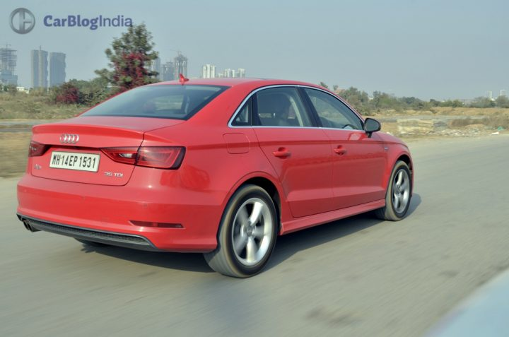 audi a3 test drive review action photo