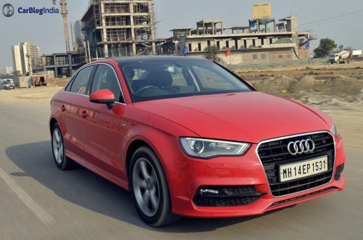 audi a3 test drive review images action photo