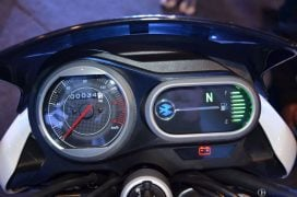 bajaj v15 instrument cluster close