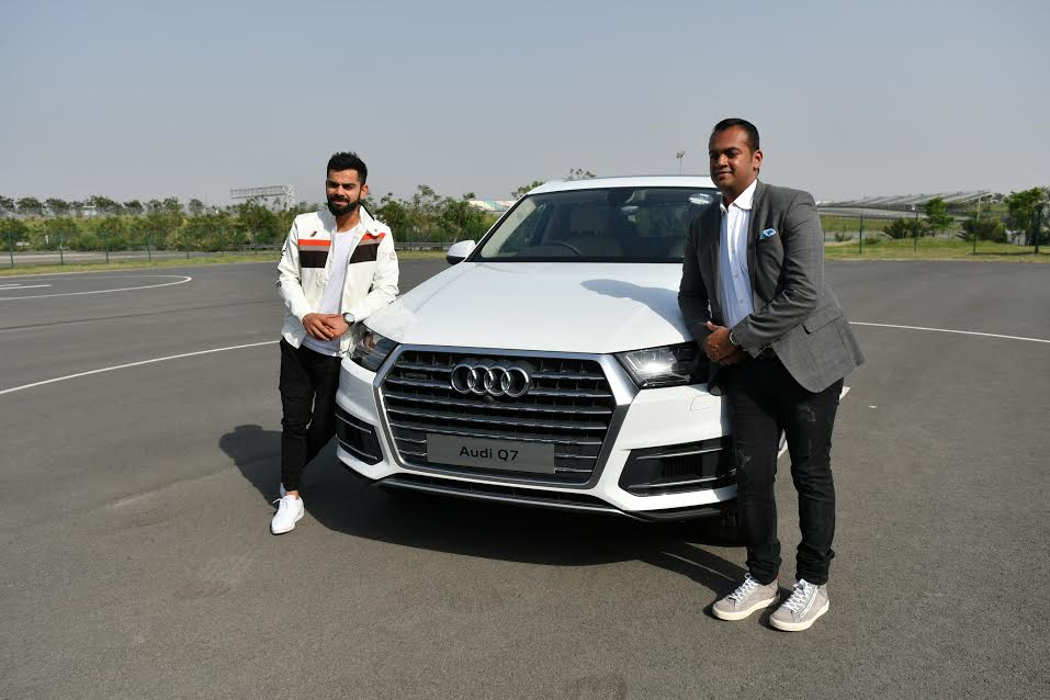 cars of indian cricketers virat kohli audi q7