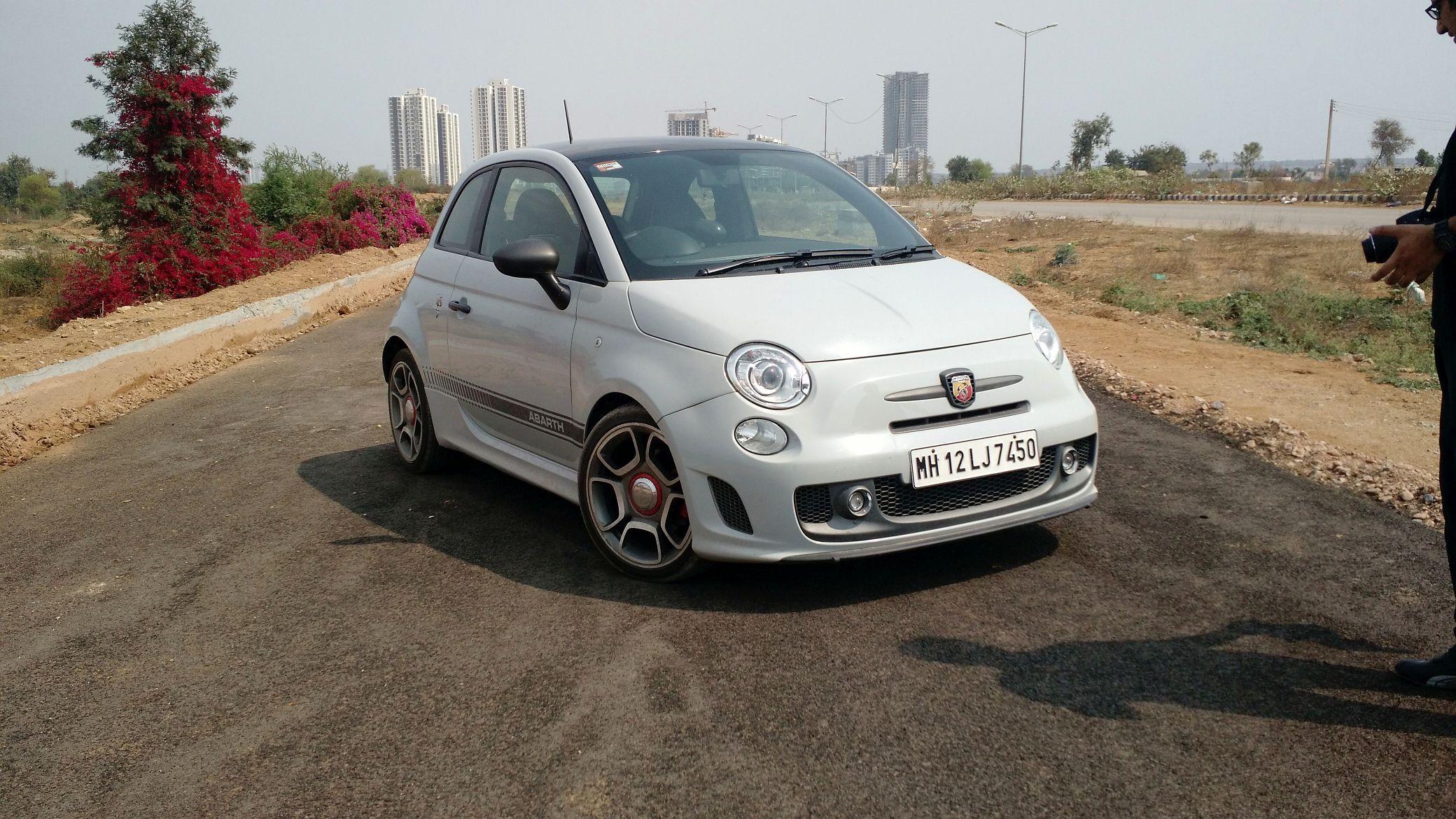 Fiat 595 Abarth Competizione Review Price In India Specs