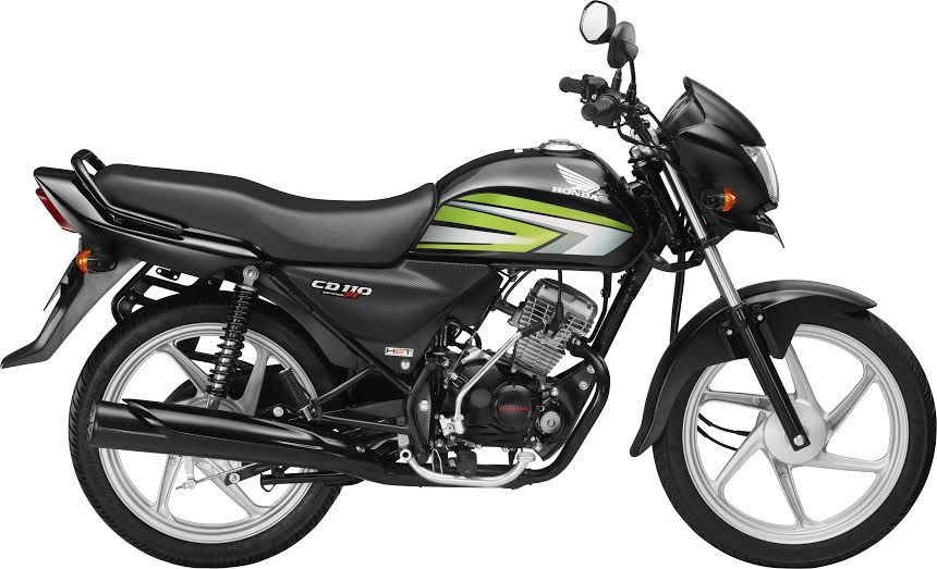 new 2016 honda CD 110 Dream Deluxe balck green official image