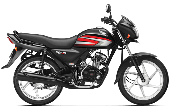 new 2016 honda cd 110 black red official image
