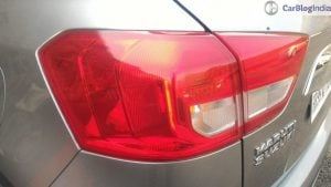 maruti vitara brezza review images tail lamp