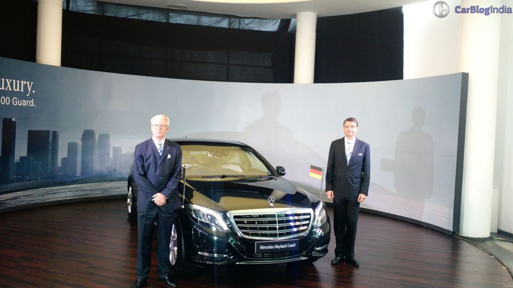 mercedes-maybach s 600 guard india launch 1