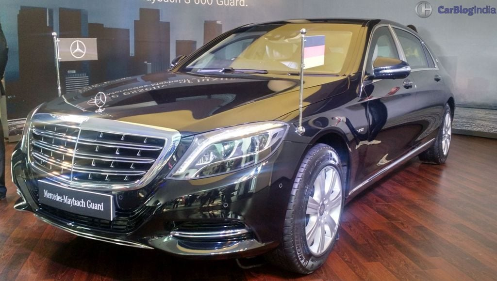 mercedes maybach s600 guard india launch 5