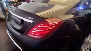 mercedes maybach s600 guard india launch badge