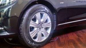 mercedes maybach s600 guard india launch tyre