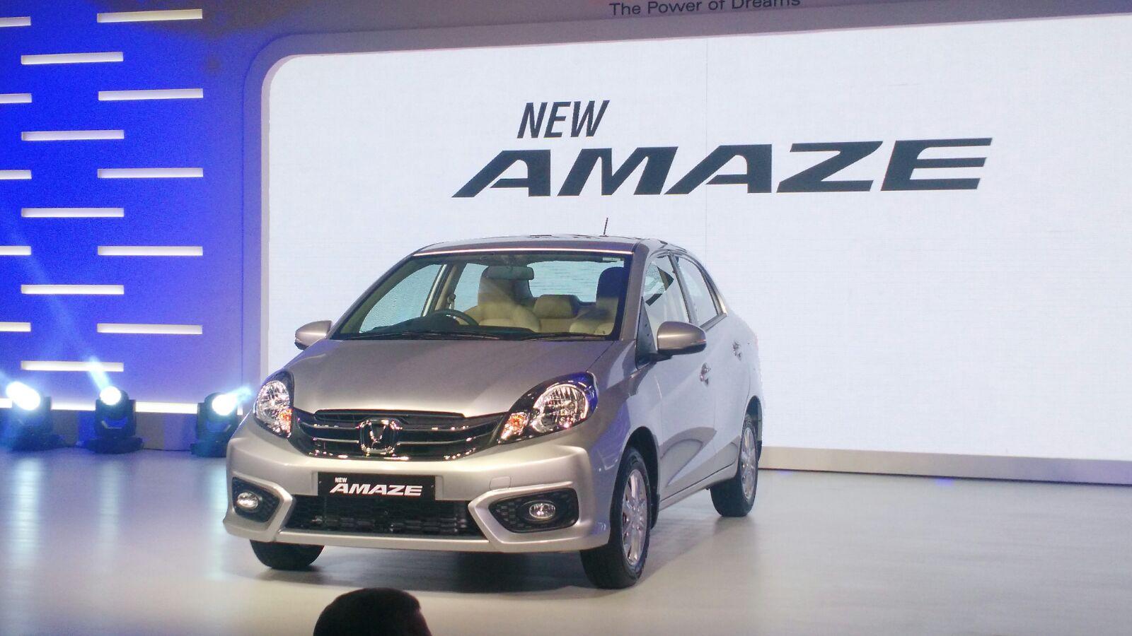 New 2016 Honda Amaze Price Features Specs Interiors