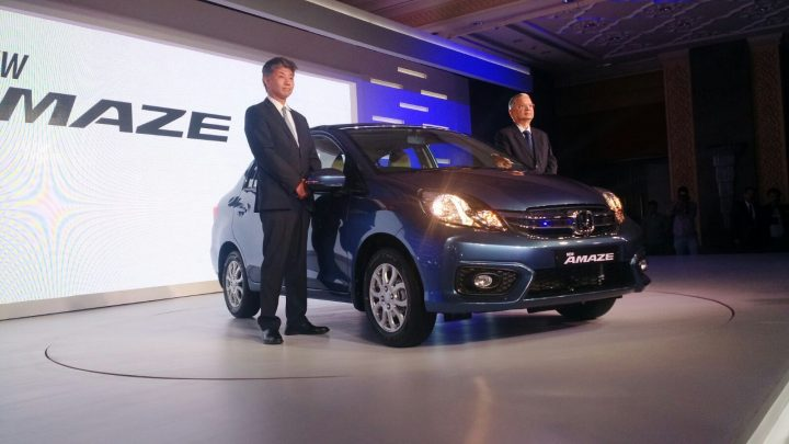 new 2016 honda amaze facelift india