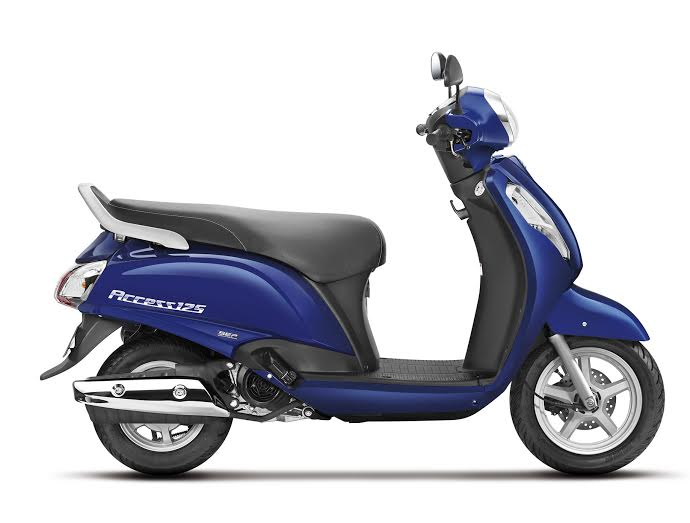 new 2016 suzuki access 125 launch image side