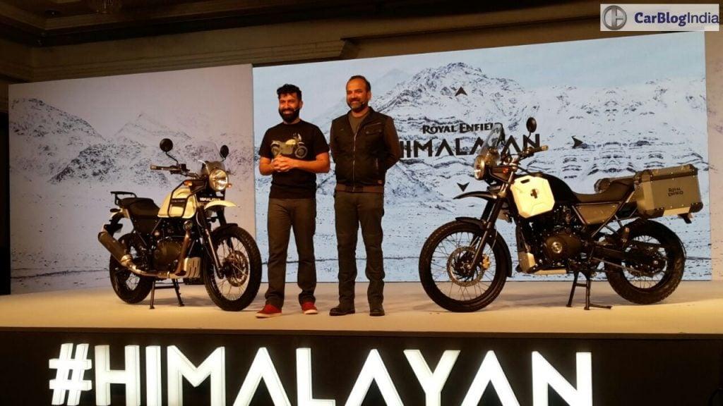 royal enfield himalayan launch images