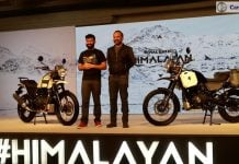 royal enfield himalayan launch images