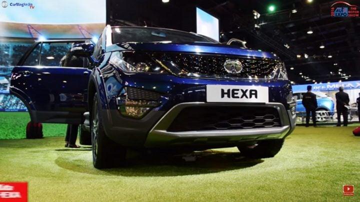 Tata Hexa vs Toyota Innova Crysta comparison - tata hexa auto expo 2016