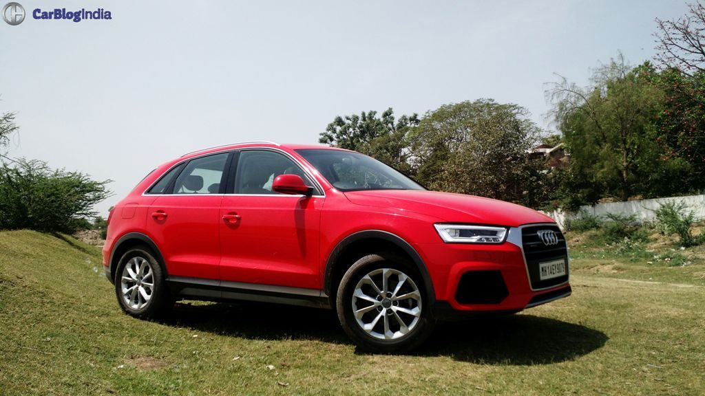 2015 Audi Q3 Test Drive Review Images Side Angle 2