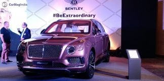 2020 Bentley Bentayga Facelift Image just for reference