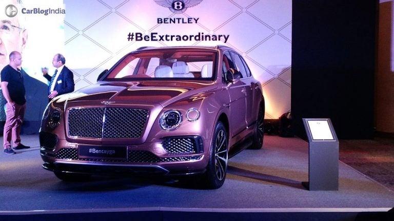 Bentley Bentayga To Receive A Facelift For 2020