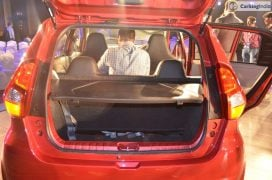 2016 datsun redi go official launch boot space
