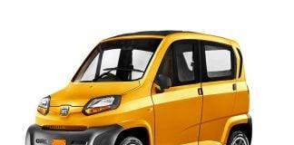 Bajaj Qute Small Car Front Side