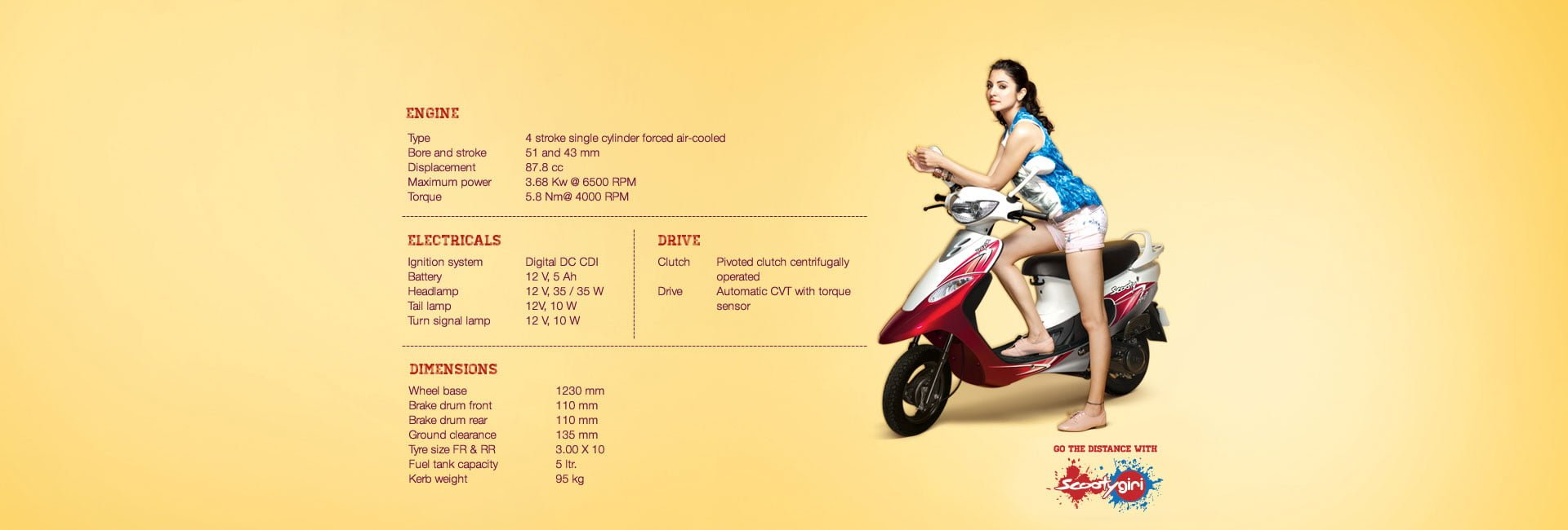 New Tvs Scooty Pep Plus 2016 Specifications Price Mileage