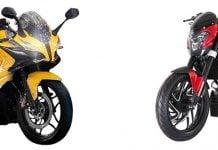 bajaj pulsar 400cc bikes - ss400 and cs400