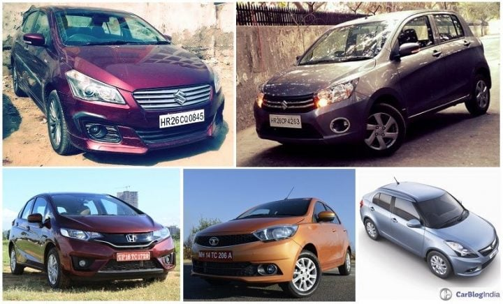 best mileage cars in india price, specs, images maruti ciaz, maruti celerio, honda jazz, tata tiago, swift dzire