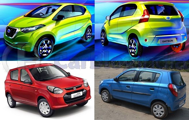 Datsun Redi GO vs Maruti Alto Comparison