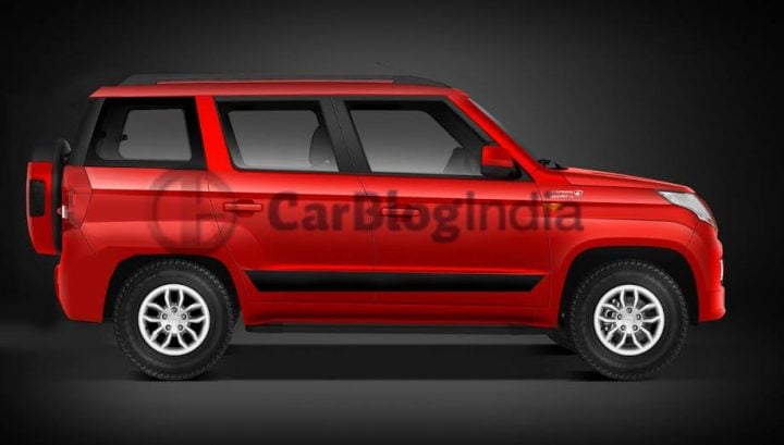 upcoming cars in india 2017 -mahindra tuv500 rendering