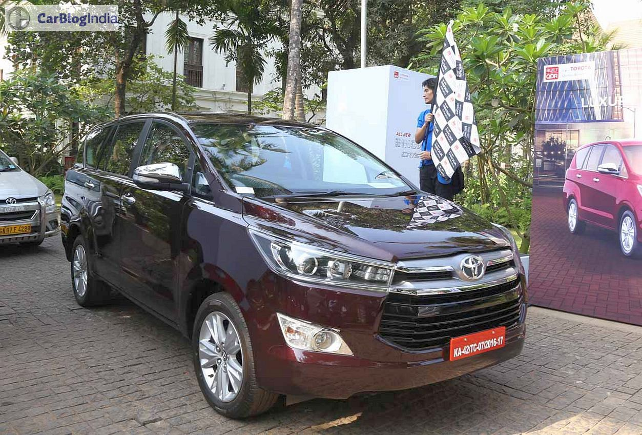Toyota Innova Crysta Images Review 2 Carblogindia