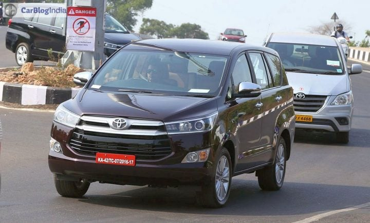 toyota innova crysta petrol india launch in october, prices to start at 13 lakhs