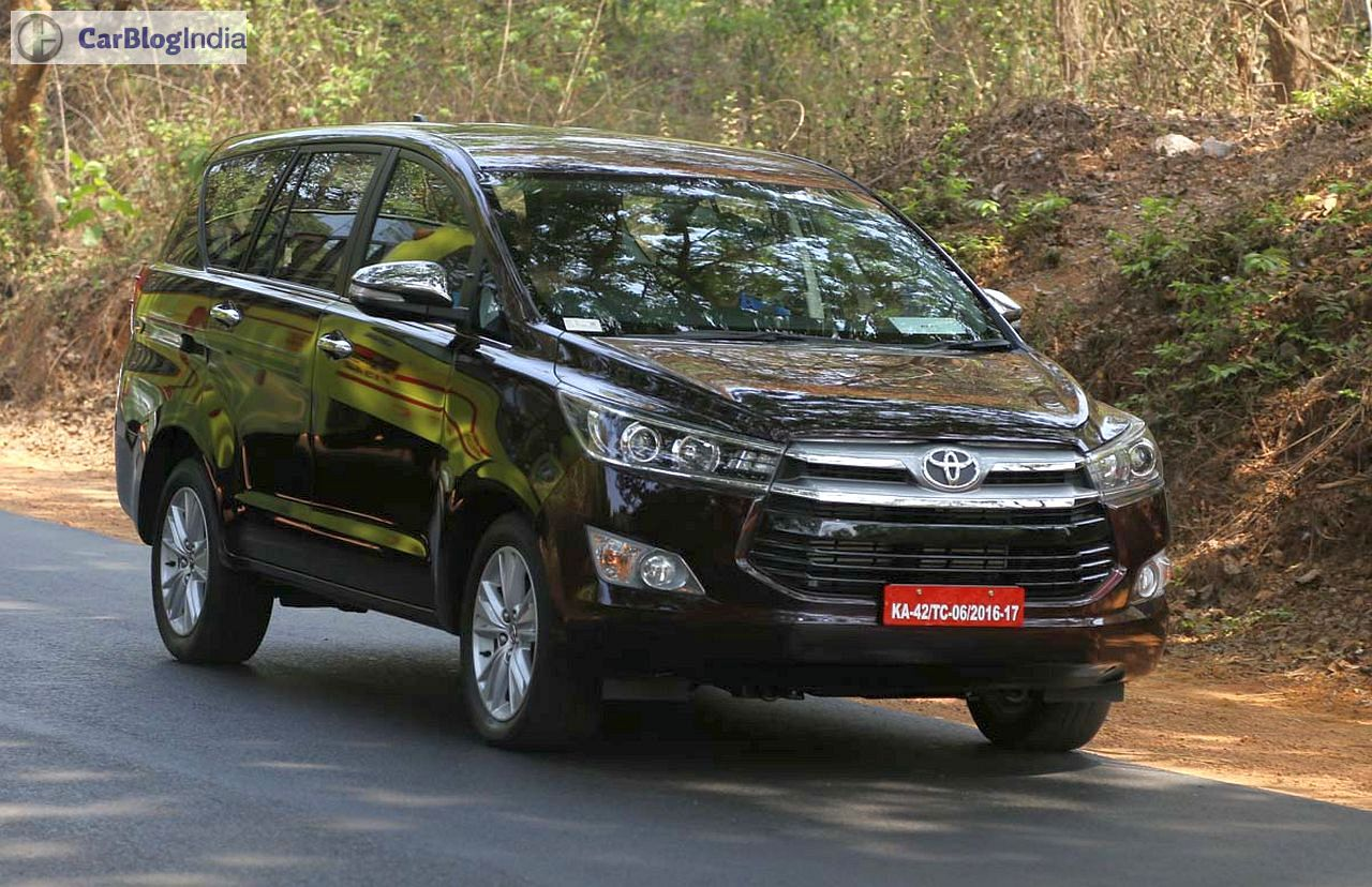 Toyota Innova Crysta Images Review 4 Carblogindia