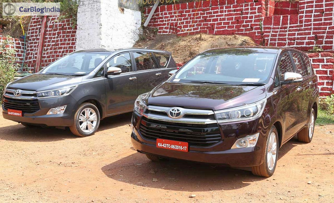 Toyota Innova Crysta Images Review 6 Carblogindia