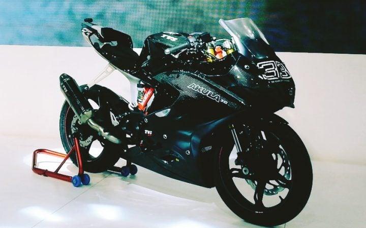 Upcoming Bikes in India in 2017-2018 - TVS Apache RR 310S