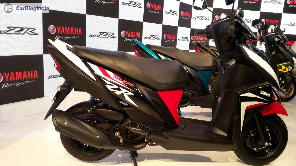 Yamaha Cygnus Ray-ZR Price, Mileage, Specifications, Review, Pics