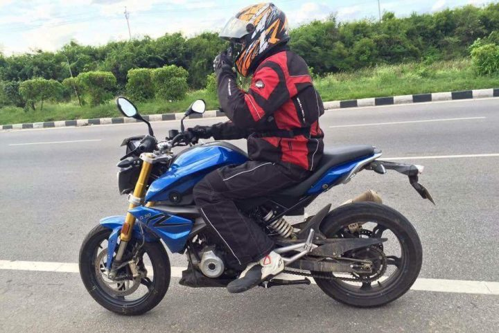 bmw g310r india launch - 2016-bmw-g310r-spy-shots-1