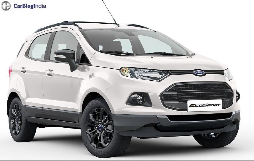 Ford Ecosport Black Edition Price In India Features Mileage