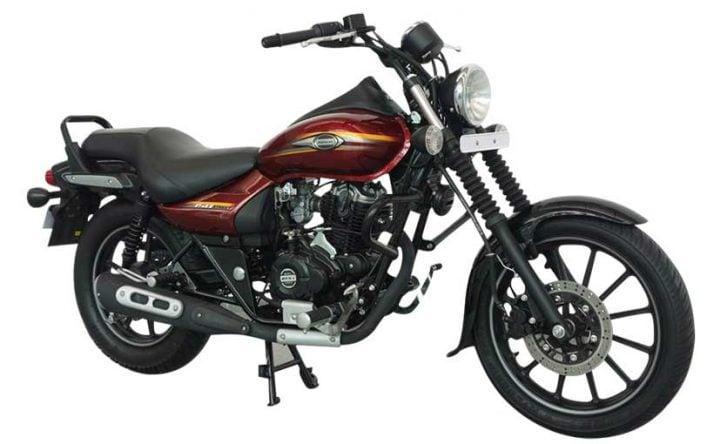 New Model Bajaj Avenger Street 150-Cosmic-Red-front-three-quarters-images