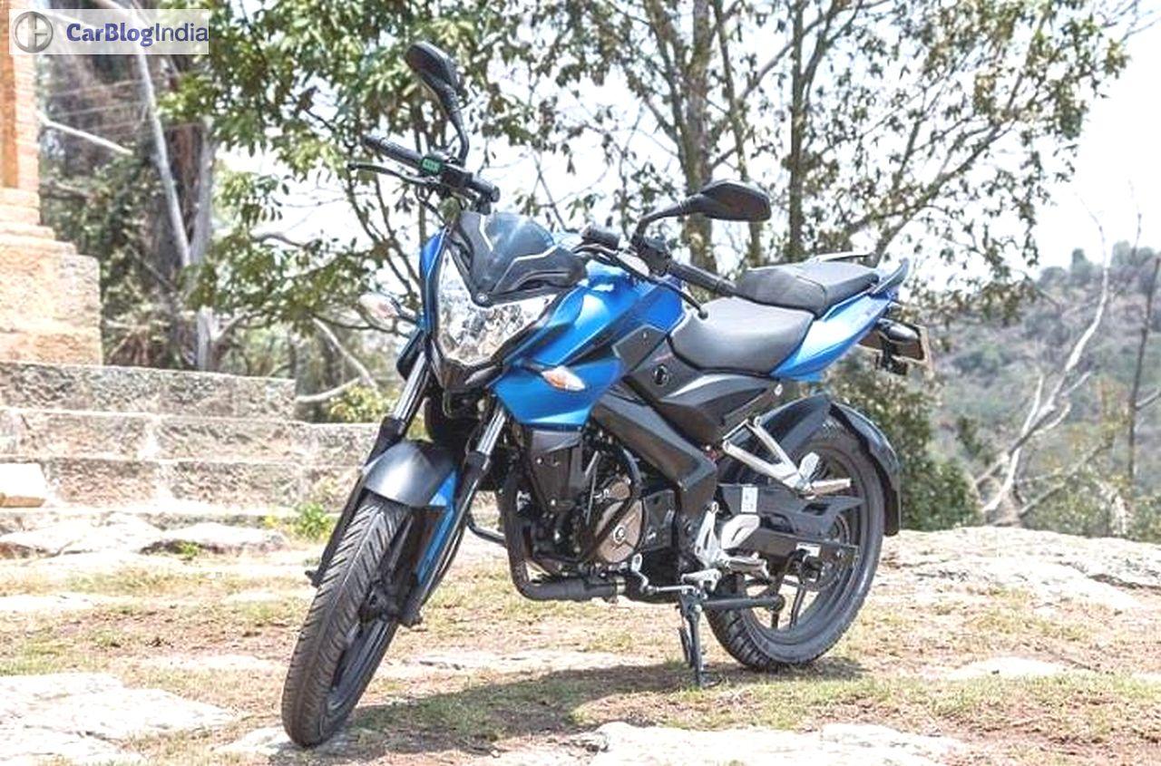 Bajaj Pulsar Ns 160 Price 78 400 Mileage 55 Kpl Specifications