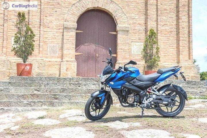 Bajaj Pulsar 150NS Images-Blue-Side-Profile