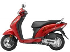 2016 honda activa i price colours - Imperial Red Metallic