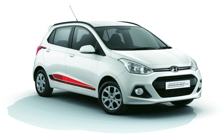 Hyundai Grand i10 Special Edition-Front-Angle