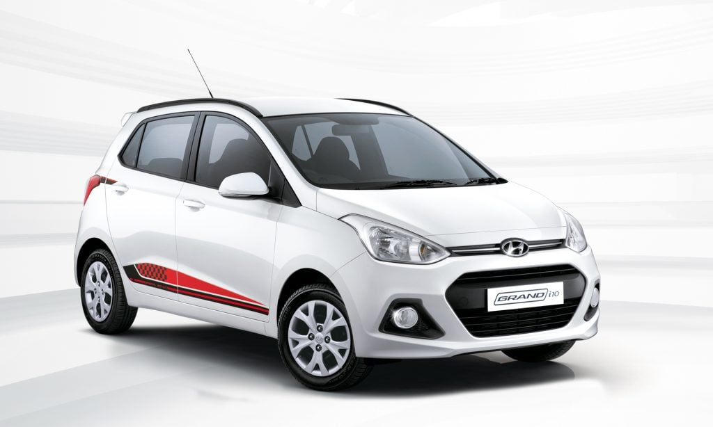 hyundai grand i10 special edition price images mileage features. Black Bedroom Furniture Sets. Home Design Ideas