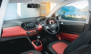 Hyundai Grand i10 Special Edition-Interior-Dashboard-Black-Red