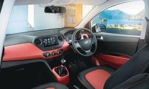 Hyundai Grand i10 Special Edition-Interior-Dashboard-Black-Red