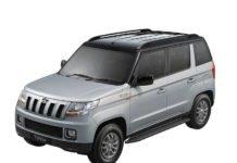mahindra tuv300 t8 dual tone paint model