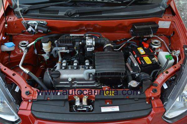 New 2016 Maruti Alto 800 facelift engine images