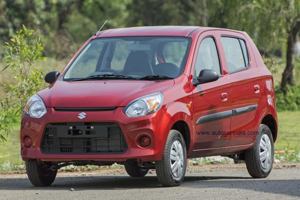 2016 Maruti Alto 800 Facelift Launched At Rs. 2.49 Lakhs