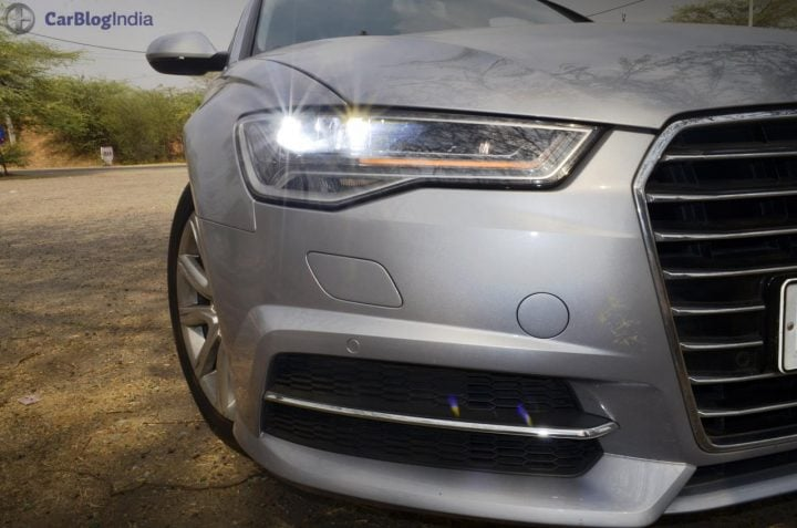 audi a6 matrix 35 tdi test drive review images headlights