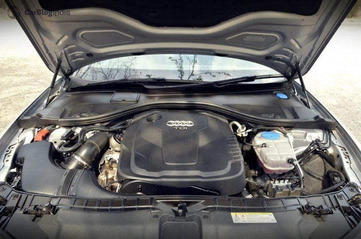 audi a6 matrix 35 tdi test drive review images engine bay