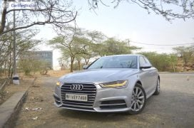 audi a6 matrix test drive review images